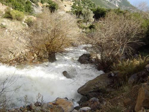 Το ποτάμι Μανυκιάτης
