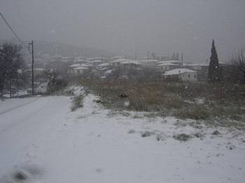 Χιόνι στο Κοίλι